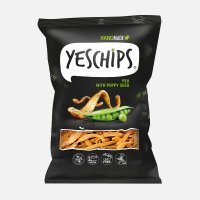 YES CHIPS Groszek z makiem 80g