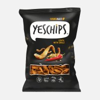 YES CHIPS Soczewica z chilli 80g