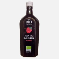 Bio sok 100% z malin 500ml