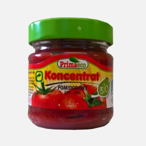 Koncentrat pomidorowy 22%-24% 185g